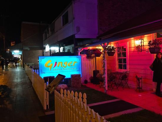 Ginger Indian Restaurant on Wigram Street