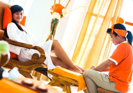 HARRIS Hotel Raya Kuta Bali: Spa and Reflexology
