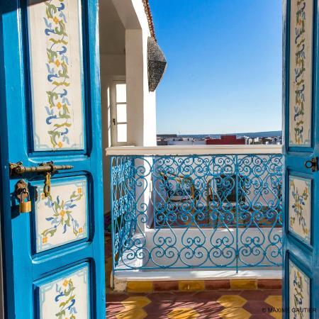 Riad Hotel Emeraude: Chambre sur terrasse