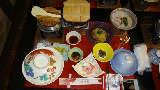 Hotel Kowakuen : 夕食
