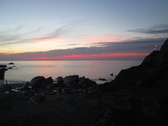 Strathmore Guest House: Sunset in Ilfracombe