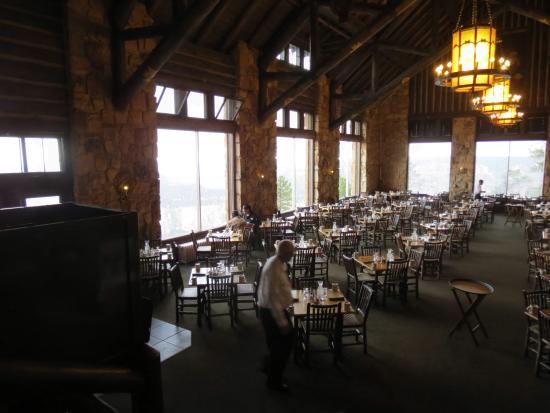 Captivating Grand Canyon Lodge Dining Room: Vista Della Sala Ristorante Dalla Lobby Part 21