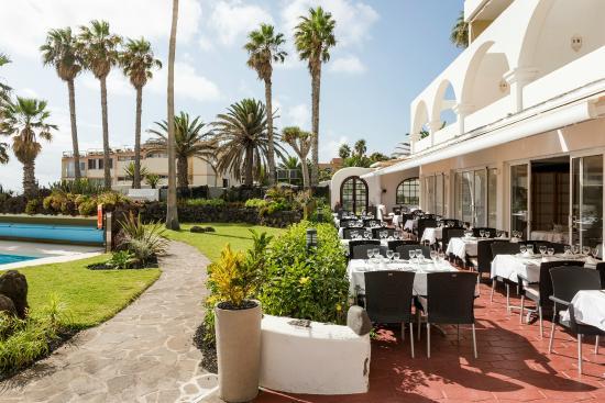 OCÉANO Hotel Health Spa: Restaurant Terrace