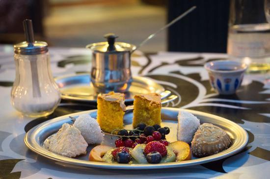 Ludwigshafen, Alemania: Gemischte Dessertplatte