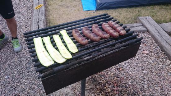 Cedar City KOA: Grill