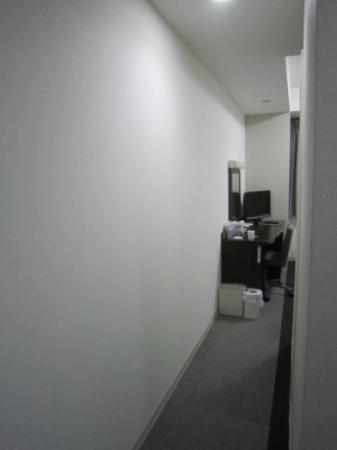 Comfort Hotel Tokyo Kanda: この奥に部屋が