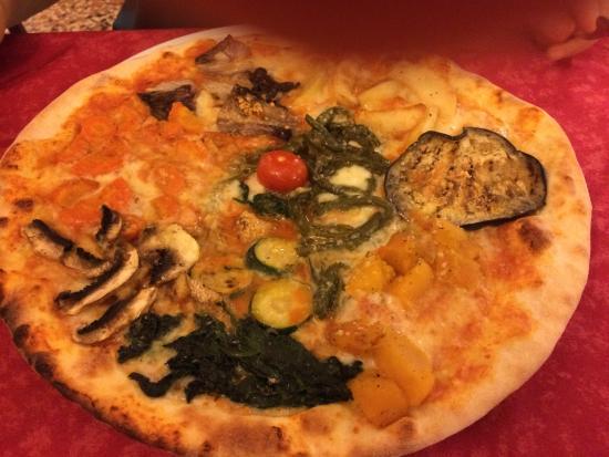 Vecchio Camin Pizzeria Ristorante Bar: la miglior vegetariana mai mangiata!