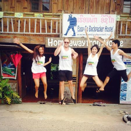 Easy Go Backpacker Hostel: team easy go!