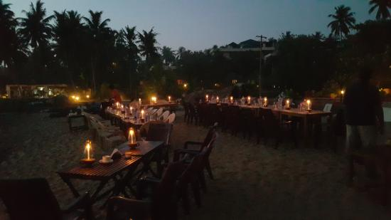 Palm Tree Heritage: candle light dinner