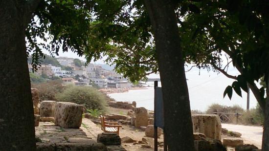 Hotel Miramare: Marinella depuis le site antique de Selinunte
