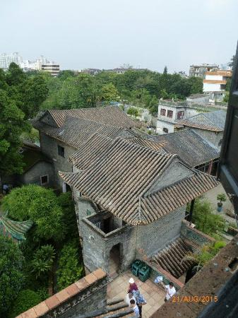 Dongguang County, Trung Quốc: Rooftop view