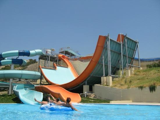 Boomerang slide - Picture of Aquatica Water Park ...