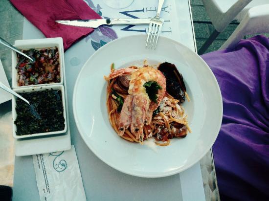 Morelia restaurant : Паста с криветкой