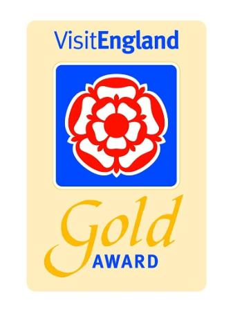 The Gables Guest House: 2015 Gold Award for Excellence from Visit England