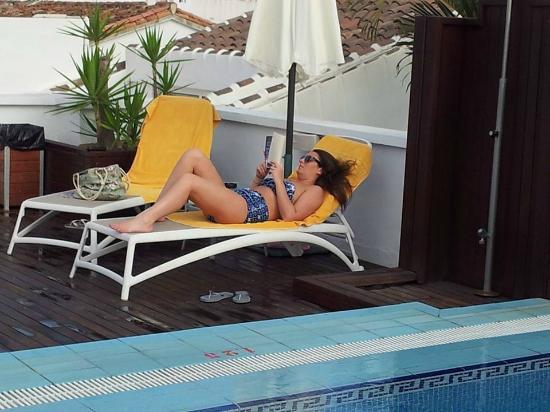 Hotel Plaza Cavana: Pool area