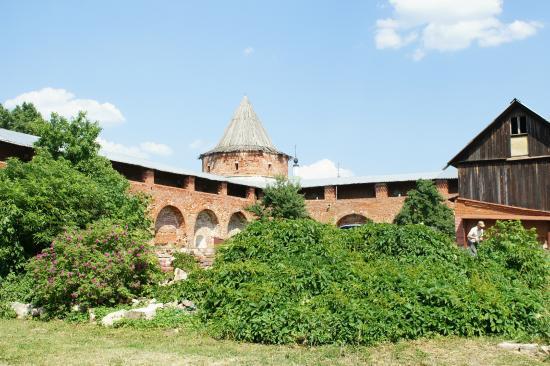 Zaraysk Kremlin State Museum of History, Architecture, Art and Archaeology: на территории