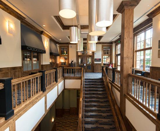 Upper Lobby at The Sebastian - Vail