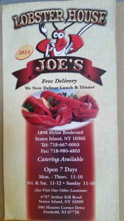 Joe's Lobster House