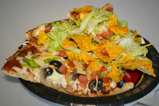 Happy Joe's: Taco Pizza and Vegetarian!