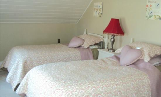 Nine Gables B&B: Second Bedroom in the Floral Suite