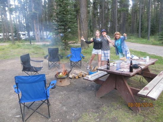 Whistlers Campground: dining out