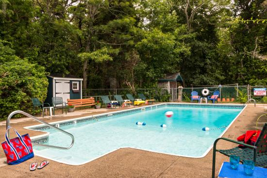 Cove Bluffs Inn: Our delightful pool open Memorial Day - Labor Day