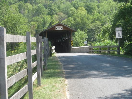 Covered Bridge Near Bedford Pa Picture Of Bedford County