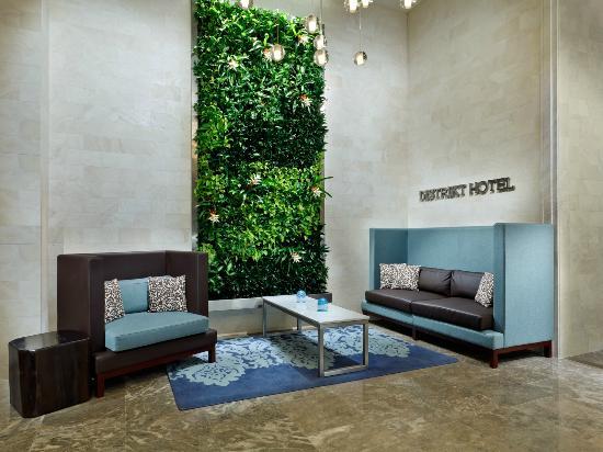 Distrikt Hotel New York City: Lobby new furniture