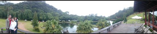 Ibitirama, ES: Panorâmica do lugar.