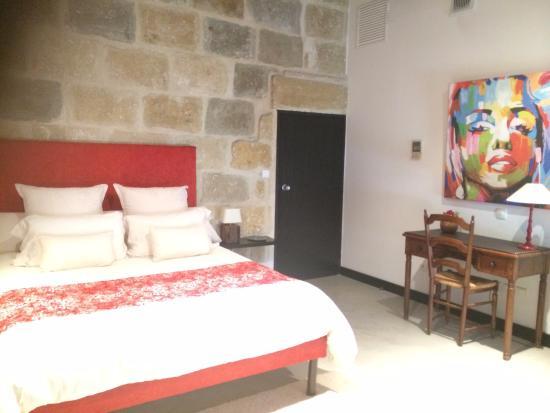 Le Huit et Spa: la chambre
