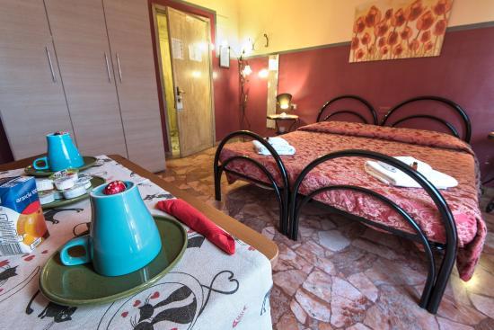Soggiorno Fortezza Fiorentina: Double or twins room