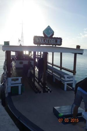 Wakatobi Dive Resort: Your Wakatobi dive boat awaits you!