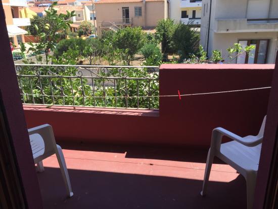 Hotel Sandalion : balcone