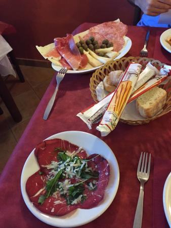Hotel Sandalion : cena di Ferragosto - antipasti