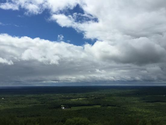 Rib Mountain State Park: View to the south from lookout tower