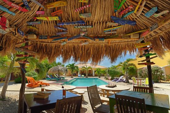 Djambo: bar and pool