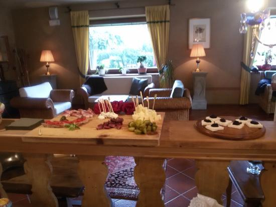 Hotel Garni Senfter: Particolare dell'interno