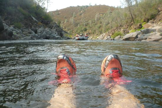 All-Outdoors California Whitewater Rafting - Day Trips: Floating in fast water