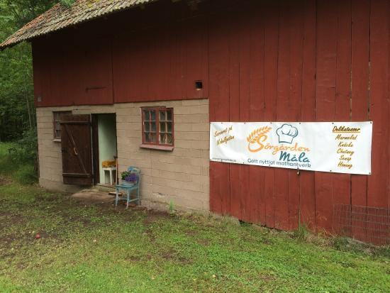 Arboga, Σουηδία: Gårdsförsäljning i ladan