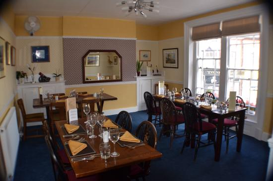 Proper Gander: One of our dining rooms