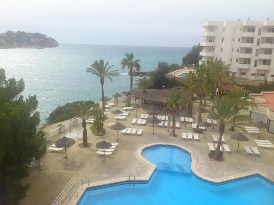 Vistas desde la habitacion picture of trh jardin del mar for Apart hotel jardin del mar la serena