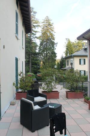 Hotel Il Nibbio : Notre terrasse