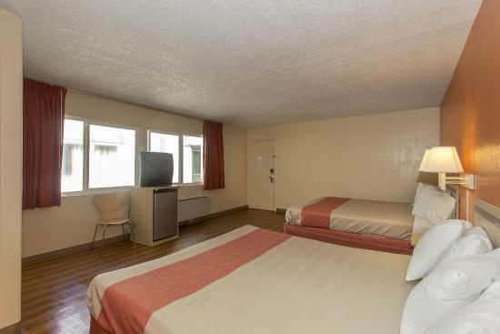 Motel 6 San Francisco Downtown : Guest Room
