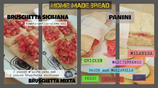 Cafe Mediterraneo: diferentes opciones para probar nuestro pan casero!