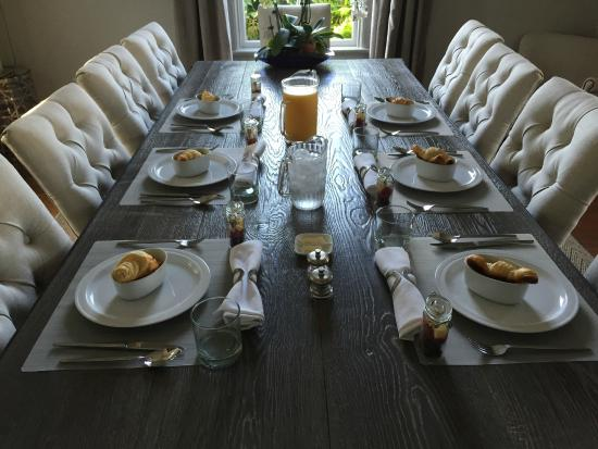 Blue Door Inn : Delicious and hearty breakfast before a day outdoors