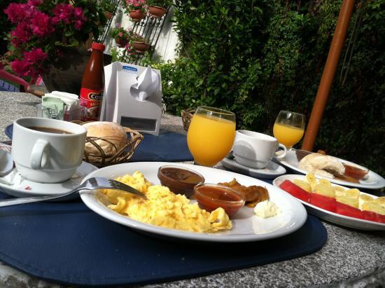 Dai Nonni Hotel: desayuno / breakfast