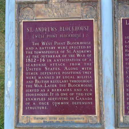 St. Andrews Blockhouse: History and more.......