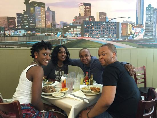 Having a nice lunch - Picture of Mary Mac\'s Tea Room, Atlanta ...
