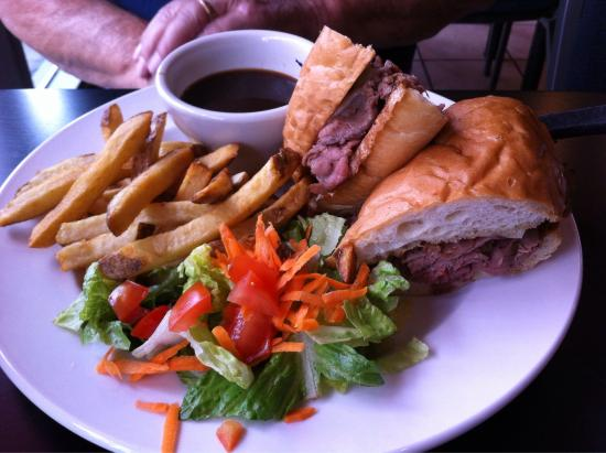 Passek's Classics Cafe: Brisket where's the beef & beef dip