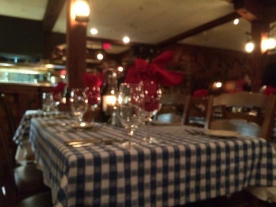 The Angus Barn: main dining room
